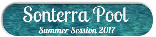 Sonterra Pool Summer Session 2017